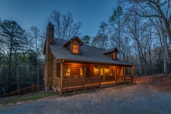 Dream Catcher, a pet friendly north georgia cabin rental