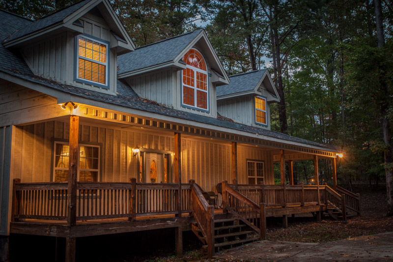 The perfect cabin for larger families or groups.  Sleeps 10 with 4 bedrooms, 4 baths, and