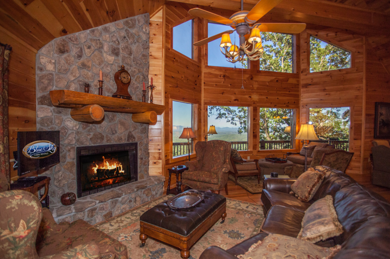 Luxury Blue Ridge GA cabin