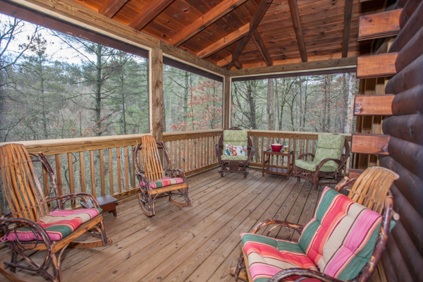 Our latest Ellijay rental cabin with 3 bedrooms, 2.5 baths
