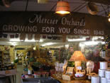 Mercier Orchards in Blue Ridge, GA one of the most popular tourist spots in the area.
