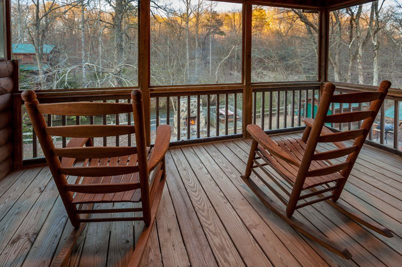 Rivers Morning Glory from Ellijay cabin rental Blue Sky Cabin Rentals