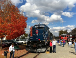 Blue Ridge Scenic Railway a great place to visit while staying with Blue Sky Cabin Rentals in North Georgia