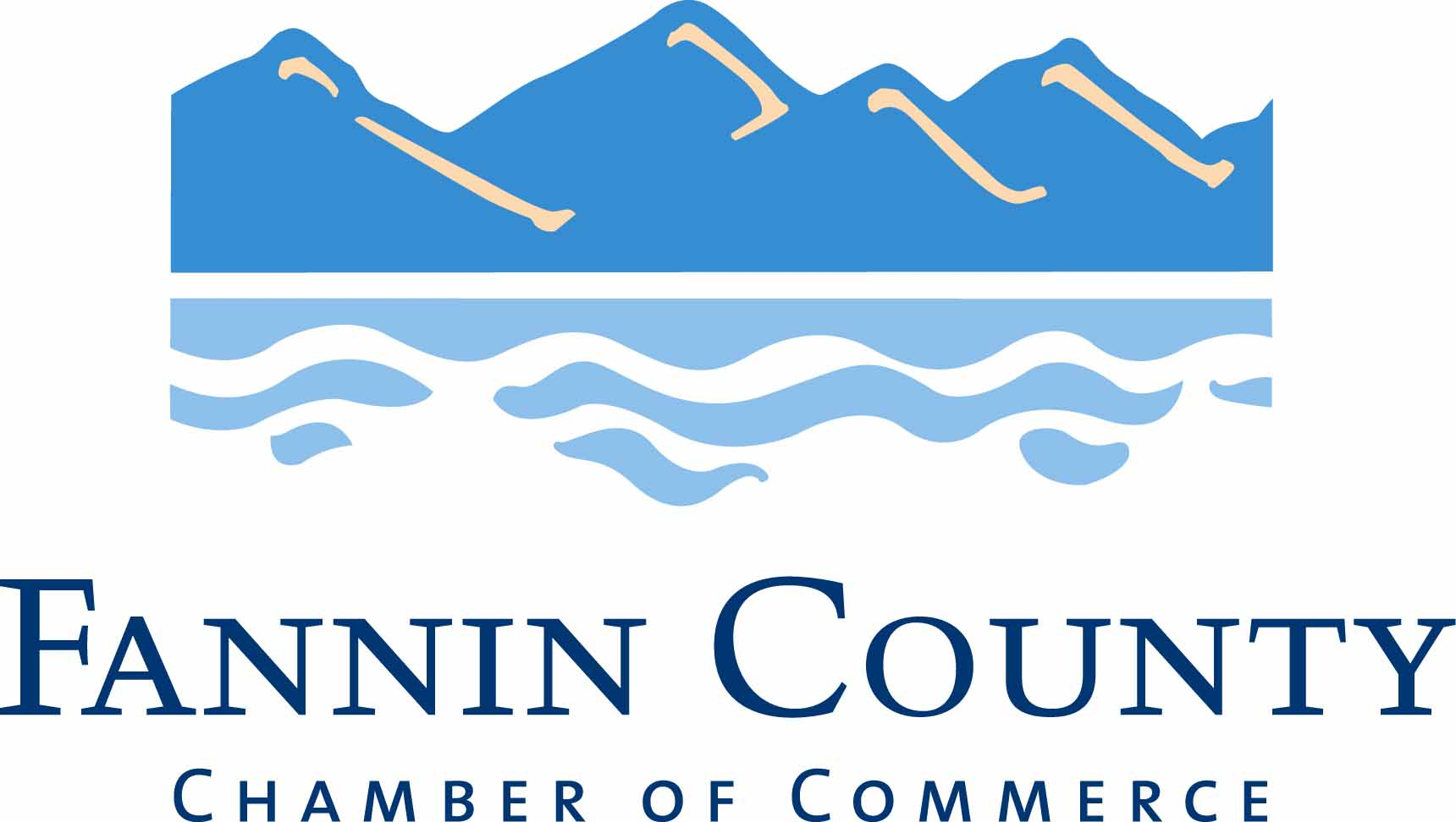 Fannin County GA (Blue Ridge Area) Chamber of Commerce logo link