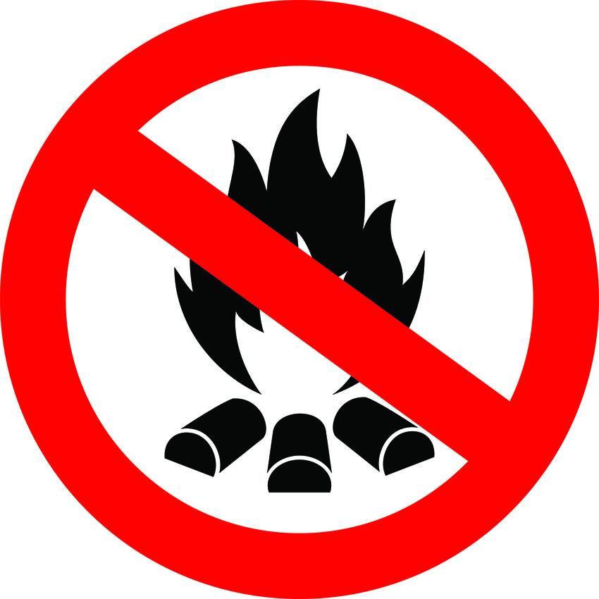 outdoor fire ban
