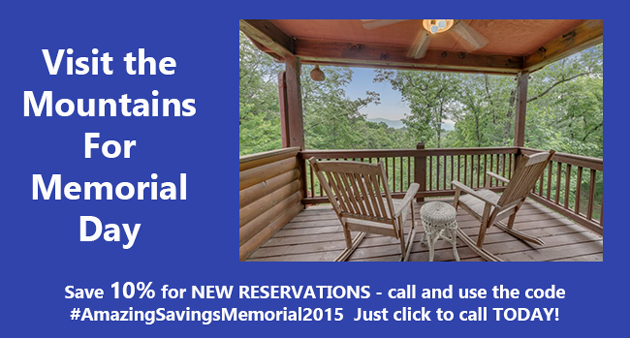 memorial day special rate 10% off