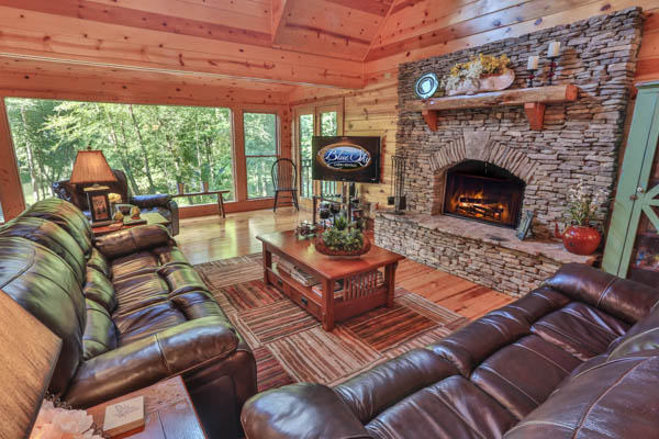 North Georgia cabin for rent between Blue Ridge and Ellijay
